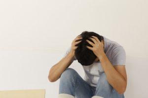 挫折する人